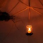 24. Borcanele cu lumânări