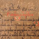 38. Caligrafia, Psalmul 126